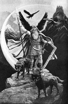 Happy Wednesday!!!! (Glædelig Onsdag!!!!) Wotan - Odin. Or