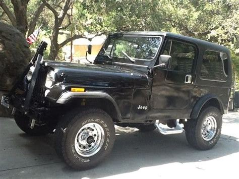 Used Jeep Hardtops For Sale Find Used Jeep Cj7 4 Wheel Drive Wrangler 2 Door