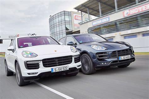 Porsche Macan Vergleich by Video Porsche Cayenne Vs Macan Autobild De