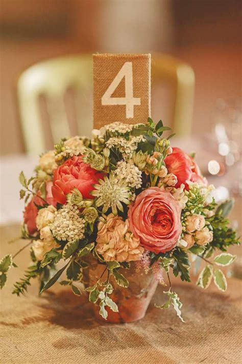 wedding flower pot centerpiece ideas add your big day with these rustic fall