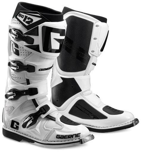 white motocross boots gaerne the boot co mx offroad sg 122174 004 white