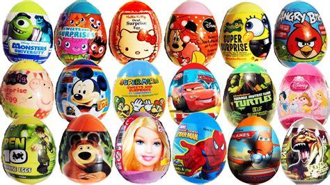 Zaini Eggs The Dino Coklat Telur Limited 40 eggs kinder spongebob mario peppa pig disney pixar cars masha i
