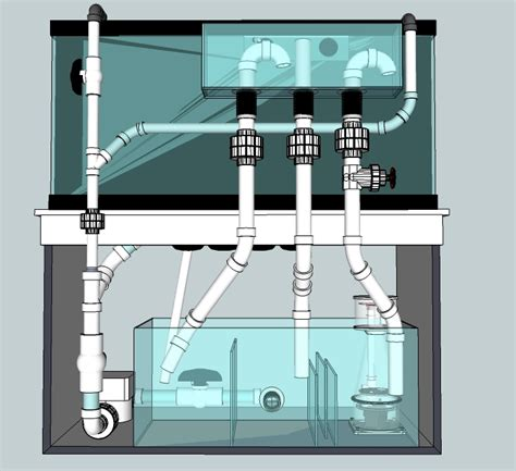 Aquarium Overflow Plumbing by Bean Animal Help Reef2reef Saltwater And Reef Aquarium Forum