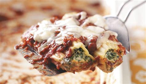 best manicotti cheese spinach manicotti recipe eggland s best