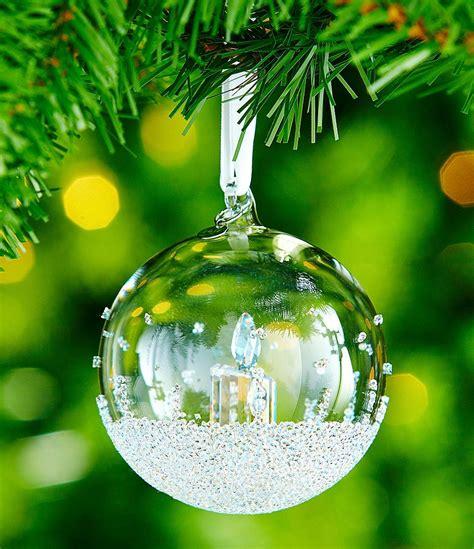 Dillard S Gift Card Customer Service - swarovski crystal annual edition 2017 christmas ball ornament dillards