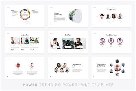 Power Modern Powerpoint Template Just Free Slides A Template In Powerpoint