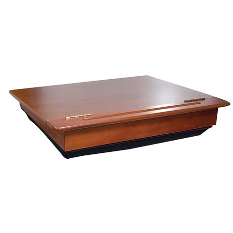 lighted laptop desk tray maxiaids wooden desk
