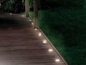 solar lighting for decks solar deck and path 5 light string