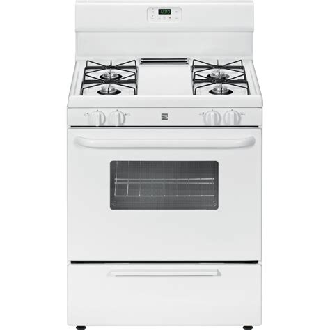 Oven Gas Bintang Top kenmore 73032 4 2 cu ft freestanding gas range w broil