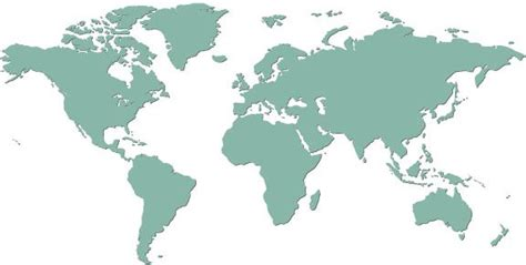 map   world  countries labeled world map