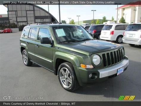 green jeep patriot jeep green metallic 2009 jeep patriot limited 4x4