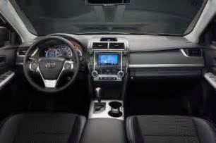 2014 Toyota Camry Interior 2014 Toyota Camry Se In Motion Side View Photo 06