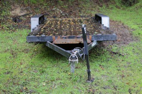 boat trailer bent axle repair how to straighten a bent trailer frame frame design