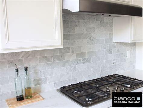 carrara bianco 3 215 6 kitchen backsplash herringbone