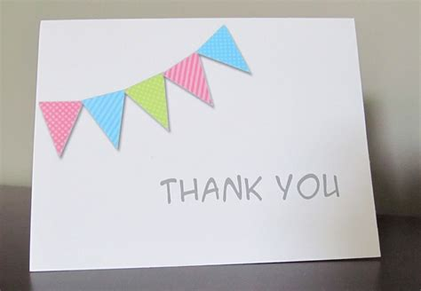 Gift Card Thank You - thank you cards to make free