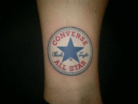 converse tattoo converse all chuck tattoos
