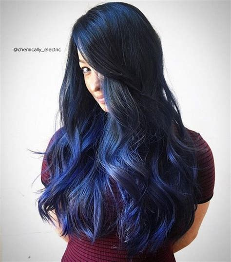 indigo hair color indigo black hair dye www imgkid the image kid has it