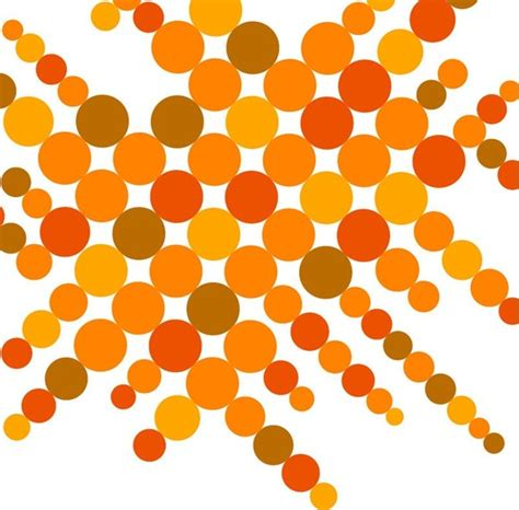 Graphic Design Pattern Vector | circular pattern vector background free vector in