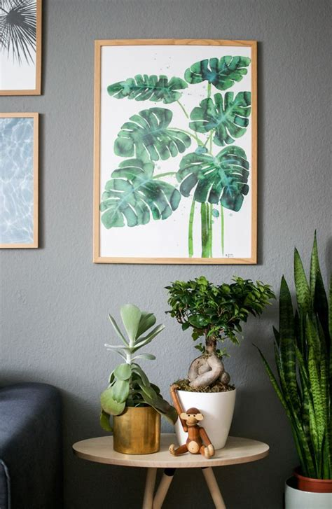 plants in home decor best 25 plant ideas on plant wall mirror and wall