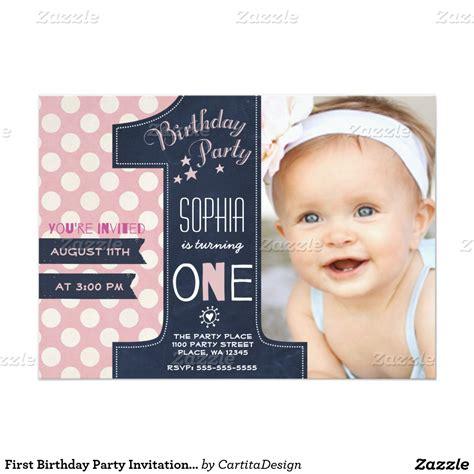 free baby 1st birthday invitations 1st birthday invitation templates cloudinvitation
