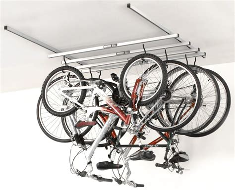 how to hang bicycles from the ceiling great storage ideas for your bikes