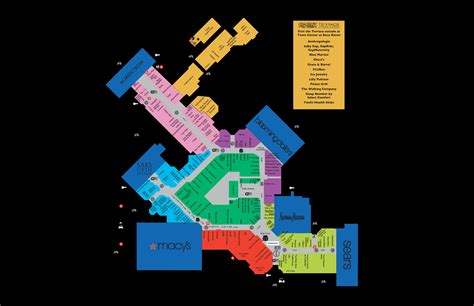 Town Center Mall Gift Card - mall map for town center at boca raton 174 boca raton pinterest mall