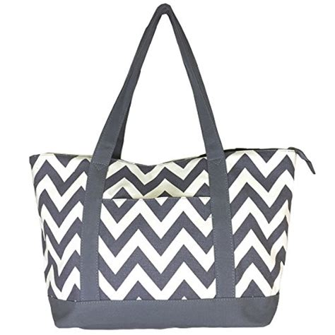 canvas tote bag pattern with zipper galleon new high quality zippered pattern prints x