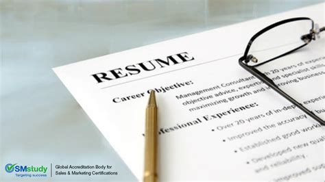 how to beef up your resume with smstudy
