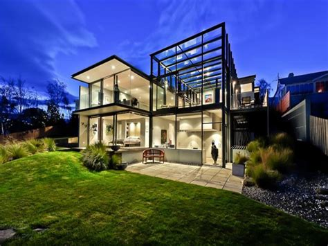 modern glass house glass house by maria gigney architects enpundit