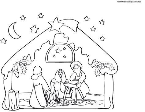 Kostenlose Vorlage Weihnachten Window Color Vorlagen Weihnachtskrippen Krippen Als Malvorlagen F 252 R Fensterbilder Zu Weihnachten