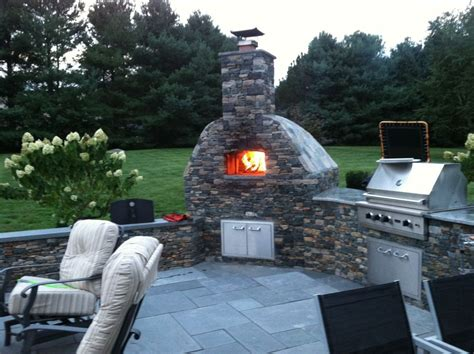 backyard pizza oven kits pizza oven kit quot volta quot for indoor outdoor