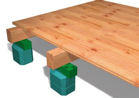 terrasse 50 cm hoch edma propose des syst 232 mes de calage pour une mise 224 niveau