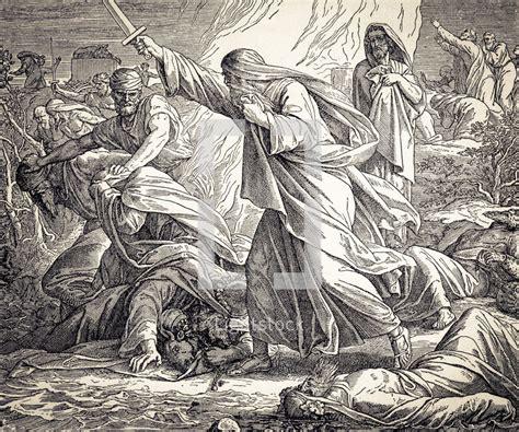 The Prophets Of Baal elijah kills the prophets of baal 1