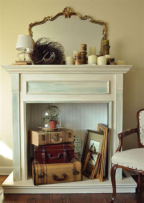 fireplace ideas no fire 10 decoraciones para chimeneas sin uso