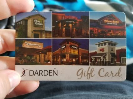 Where Can I Use A Darden Gift Card - free 25 dollar darden gift card gift cards listia com auctions for free stuff