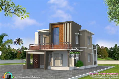 low cost floor home plan kerala design and plans
