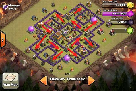 coc layout anti gowipe th8 1000 images about coc clash of clans on pinterest war