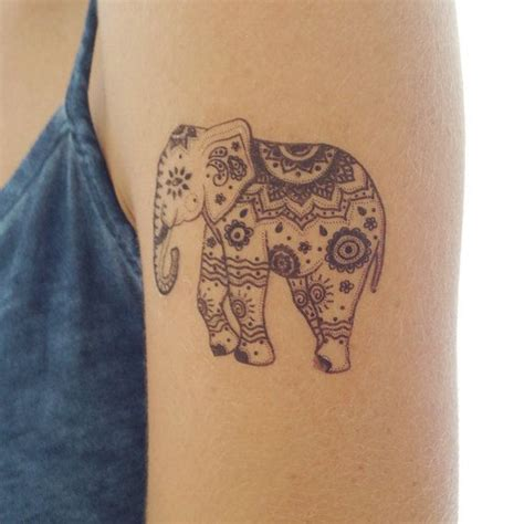 indian elephant henna tattoo 51 and impressive elephant ideas an elephant