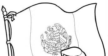 pinto dibujos bandera de m 233 xico para colorear