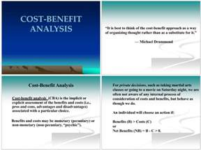 cost benefit analysis examples for excel ppt and pdf