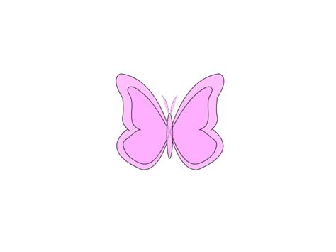 pink butterfly light butterfly clipart light pink free collection