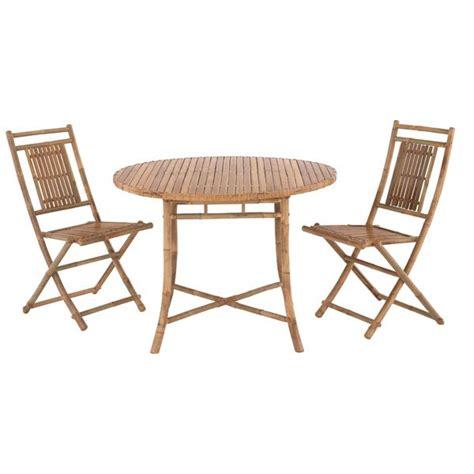 fly table de jardin table ronde et chaises epy fly maison