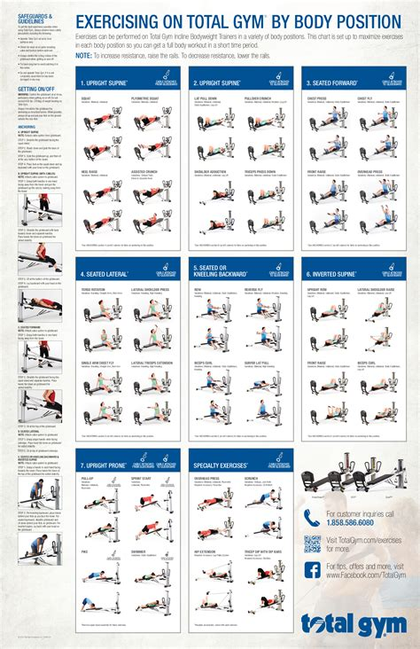 printable workout plan for gym total gym exercises printable total gym incline