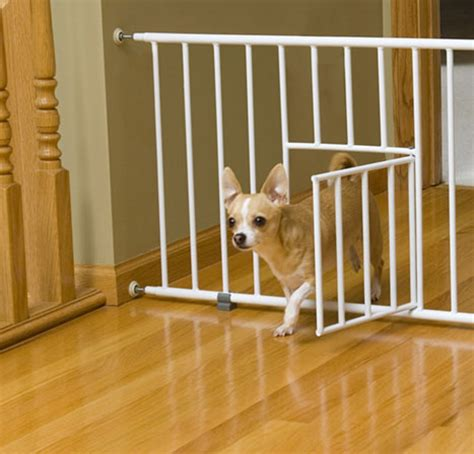 short dog gates for the house carlson puppy small dog gate step over baby safety w little pet door ebay