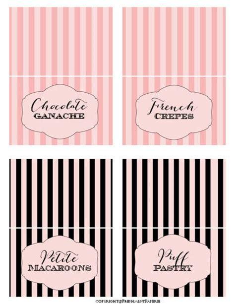 printable dessert labels printable tent cards instant download buffet labels