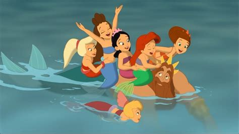 Little Mermaid Wall Stickers the little mermaid iii ariel s beginning the little