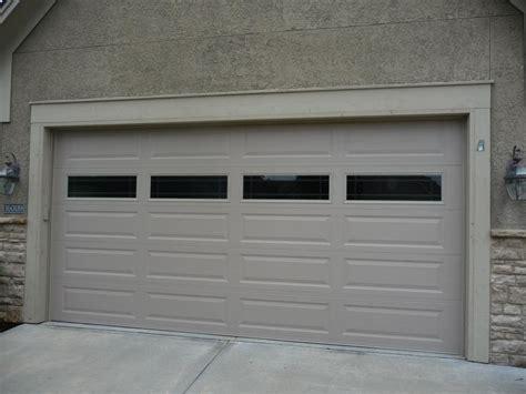 traditional contemporary garage door designs kansas