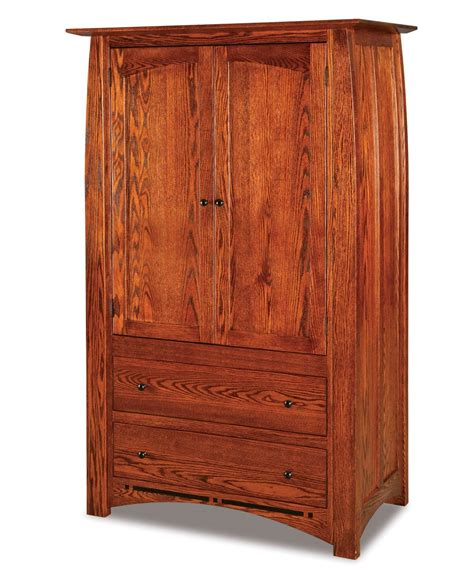 2 drawer armoire boulder creek armoire 2 drawer 2 door amish direct furniture