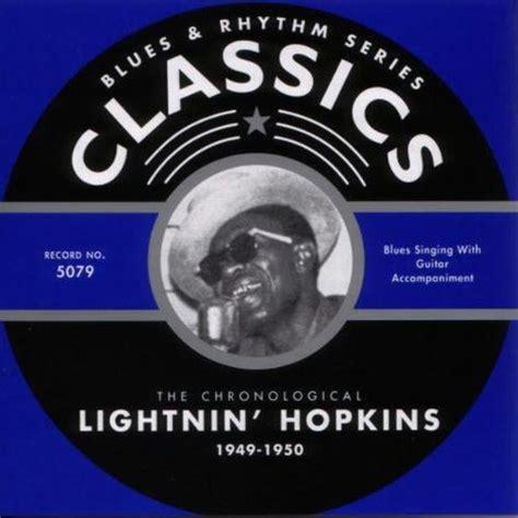 42 Classics Rhythm Mp Publisher release blues rhythm series the chronological lightnin 1949 1950 by lightnin