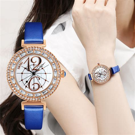 Jam Skmei Wanita Fashion skmei jam tangan fashion wanita 9158 white
